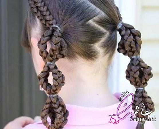 صور تصفيفة شعر عصرية،تسريحات شعر النساء مع فراق على الجانب. تسريحات الشعر 2020 3almik.com_24_20_159