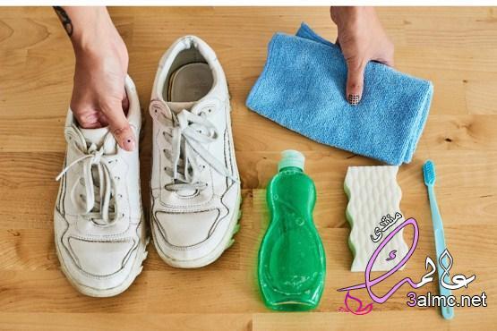 معجون الأسنان.. وأفضل طرق تنظيف الحذاء الأبيض 2021