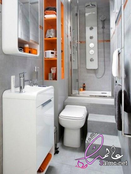 ديكورات حمامات صغيرة 2019, ديكورات حمامات صغيرة مصرية,حمامات صغيرة جدا وبسيطة