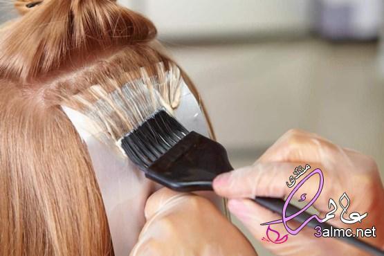 طريقة خلط الصبغات2020,كيفية مزج صبغات الشعر,طرق دمج الوان صبغات الشعر