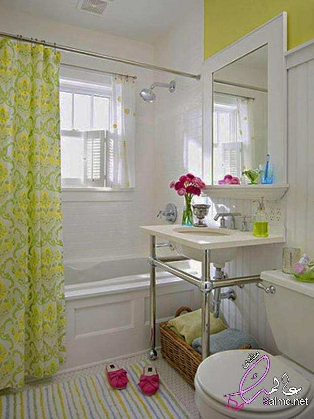 ديكورات حمامات بسيطة,حمامات صغيرة مودرن 2020,ديكورات حمامات صغيرة المساحة,أجمل تصاميم الحمام 2020