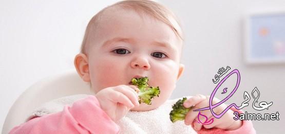 اطعمة الطفل في الشهر العاشر