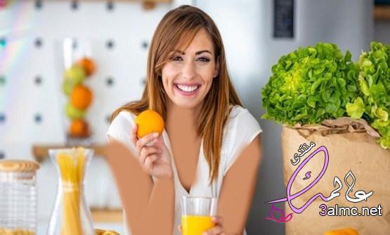 فوائد عصير البرتقال للبشرة الدهنية وأضراره