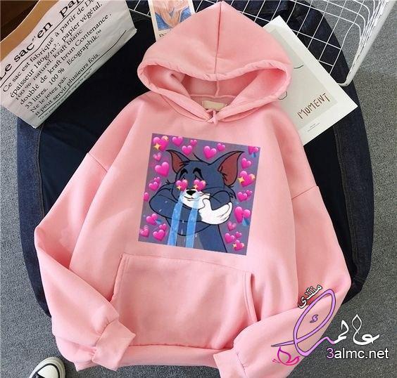 موديلات سويت شيرت موضة 2021,Trendy sweatshirt,ازياء خريف2021 روعة
