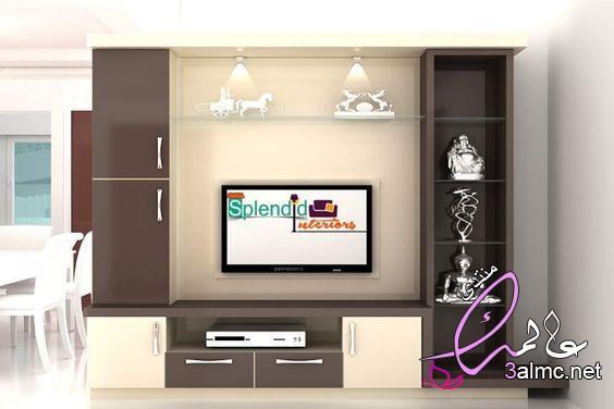 صور ديكورات تلفزيون خشب،ديكورات حائط التلفاز لغرف المعيشة ,رفوف تلفزيون, ديكور خشب للتلفزيون